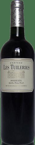 Château les Tuileries Bordeaux Rouge 2011 Merlot