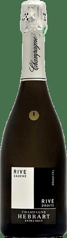 Champagne Jean-Paul Hebrart Rive Gauche/Rive Droite Millesime Grand Cru 2006 Chardonnay