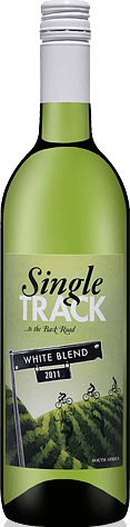 Single Track to the Back Road White 2011 Blend