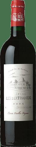 Château les Bertrands Vieilles Vignes Blaye Rouge 2011 Merlot