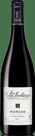 Domaine Gravallon Lathuilière Cuvée Premium 2011 Gamay