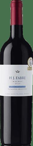 Hj Fabre Barrel Selection Malbec 2012 Malbec