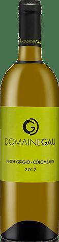 Domaine Gau Pinot Grigio Colombard 2012 Pinot Grigio