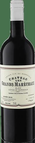 Château Les Grands-Maréchaux 2010 Merlot