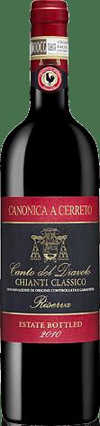 Canonica A Cerreto 'Canto Del Diavolo' Riserva 2010 Sangiovese