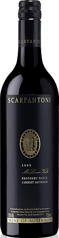 Scarpantoni Brothers' Block Cabernet Sauvignon Cabernet Sauvignon