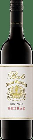 Best's Great Western 'Bin 0' Shiraz 2012 Shiraz-Syrah