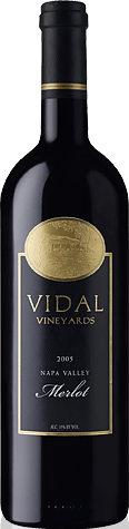 Vidal Vineyards Merlot 2005 Merlot