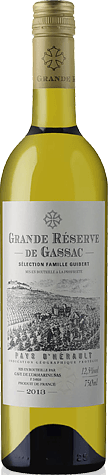 Grande Reserve De Gassac Blanc Igp 2013 Sauvignon Blanc