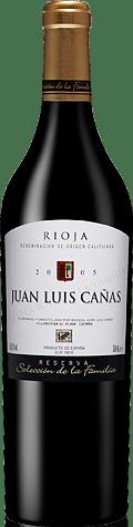 Juan Luis Canas Res De Familia Rioja 2005 Tempranillo