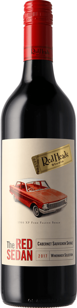 RedHeads The Red Sedan 2017 Cabernet Sauvignon