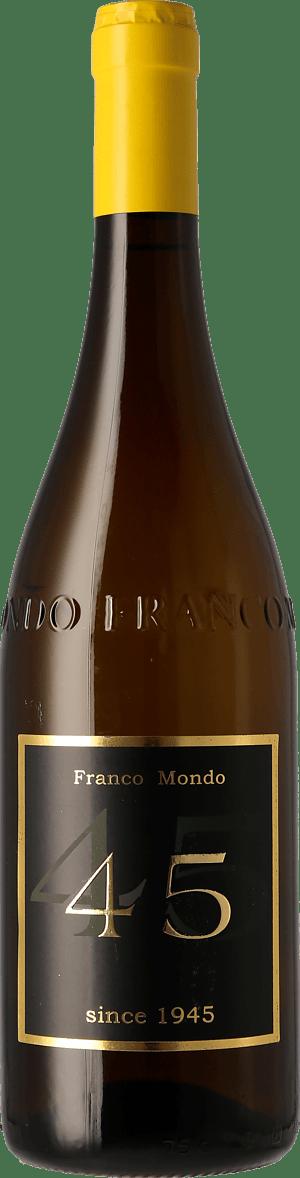 "Franco Mondo Vino Bianco ""45"" 2018 Annan"