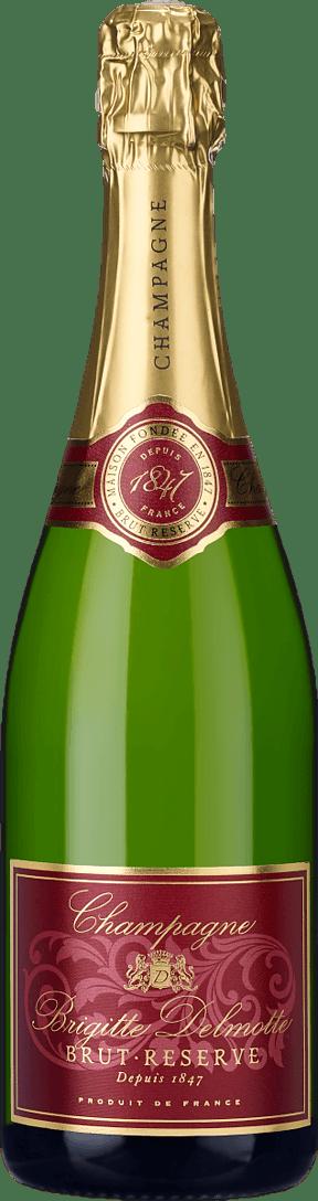 Champagne Brigitte Delmotte Brut Reserve NV Pinot Noir