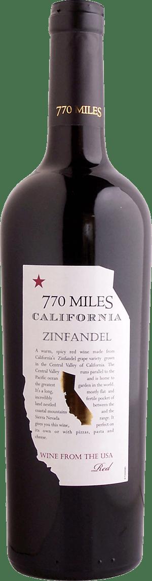 770 Miles Zinfandel 2018 Zinfandel