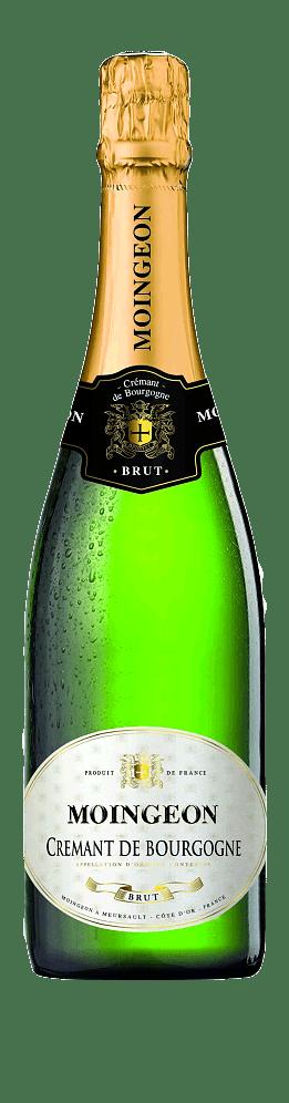 Moingeon Crémant de Bourgogne Brut Chardonnay 80% Chardonnay, 20% Pinot Noir Bourgogne