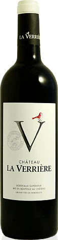 Château la Verriere Bordeaux Supérieur 2017 Merlot