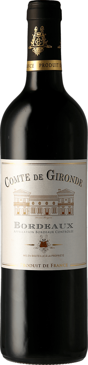 Comte de Gironde Bordeaux 2018 Merlot