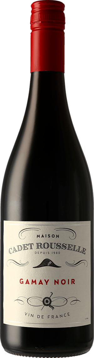 Famille Bougrier Cadet Rousselle Gamay Noir 2019 Gamay