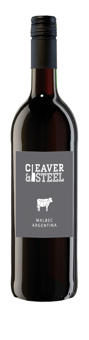 Cleaver & Steel Malbec 2018 Malbec 100% Malbec Cuyo