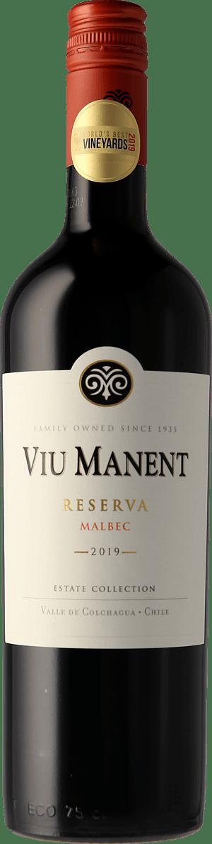 Viu Manent Malbec Reserva Est. Collection Colchagua 2019 Malbec