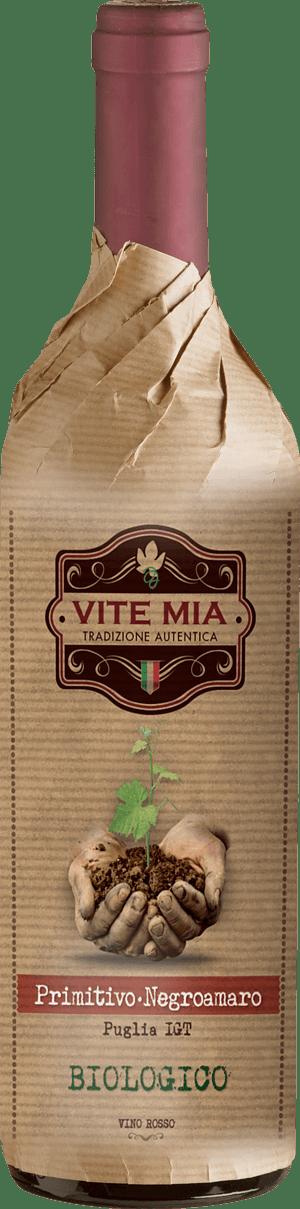 Vite Mia Primitivo Negroamaro Puglia Biologico 2019 Primitivo