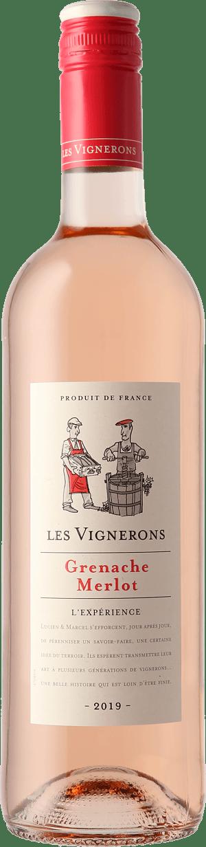 Les Vignerons Grenache Merlot Rosé 2019 Grenache