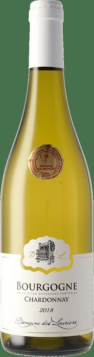 Domaine des Lauriers Chardonnay Bourgogne 2018 Chardonnay