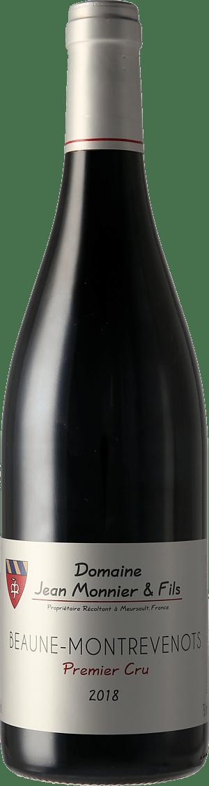 Domaine Jean Monnier & Fils Beaune-Montrevenots Rouge 1er cru 2018 Pinot Noir