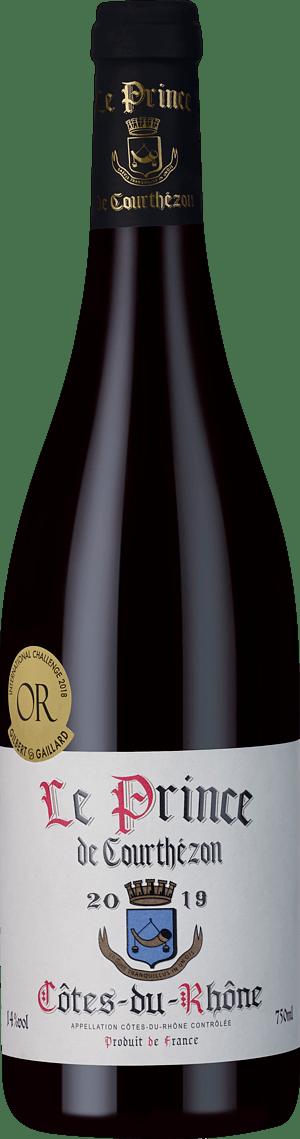 Le Prince de Courthézon Côtes du Rhône 2019 Grenache