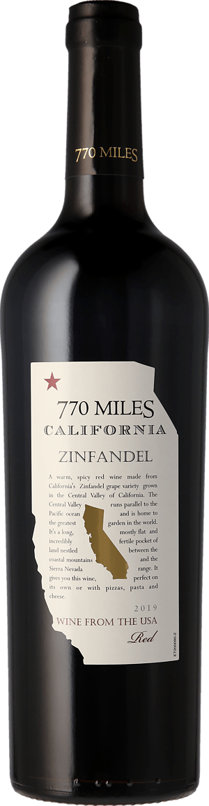 770 Miles Zinfandel 2019 Zinfandel