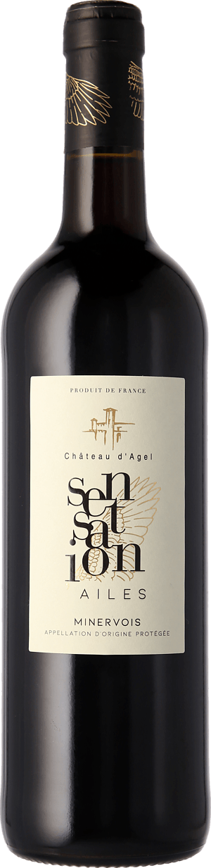 Château d'Agel Sensation'Ailes 2018 Shiraz-Syrah