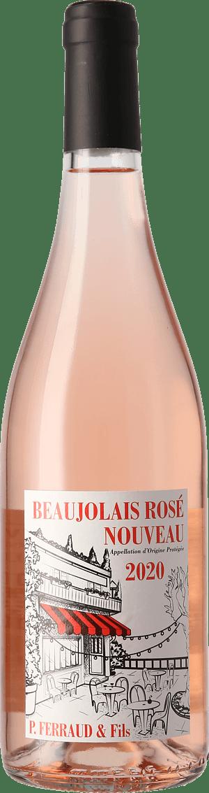 P. Ferraud et Fils Beaujolais Nouveau Rosé 2020 Gamay