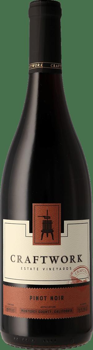 Craftwork Estate Pinot Noir Monterey 2018 Pinot Noir