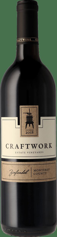 Craftwork Estate Zinfandel Monterey 2018 Zinfandel