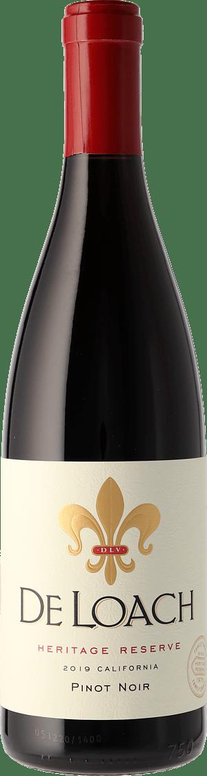 DeLoach Pinot Noir Heritage Reserve 2019 Pinot Noir