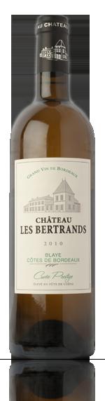 Château les Bertrands Cuvée Prestige Blanc 2010 Sauvignon Blanc