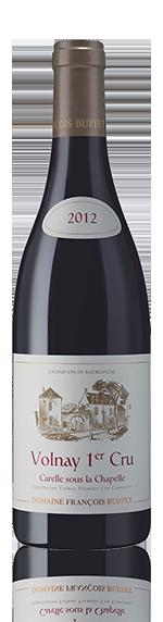 Domaine Buffet Carelle Sous La Chapelle 2012 Pinot Noir