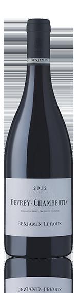 Benjamin Leroux Gevrey-Chambertin 2012 Pinot Noir