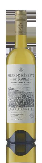 Grande Reserve De Gassac Blanc 2015 Chardonnay