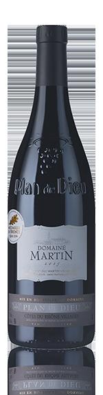 vin Domaine Martin Plan De Dieu 2015 Grenache