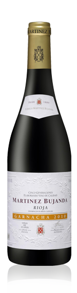 Bujanda Old Vine Garnacha Rioja 2010 Blend
