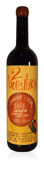 2 Borratxos 2014 Garnacha 85% Garnacha, 15% Cabernet Sauvignon Priorat