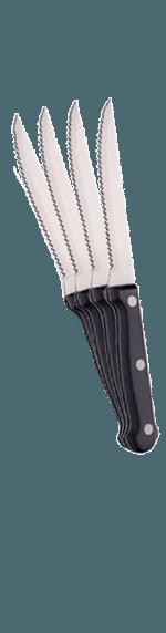 4 köttknivar i träförpackning 'Vinoteket'