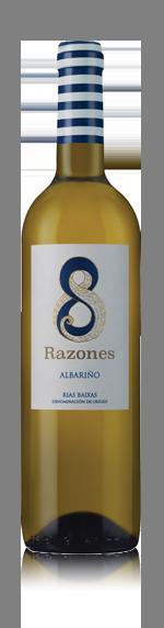 vin 8 Razones Albarino 2015 Albariño