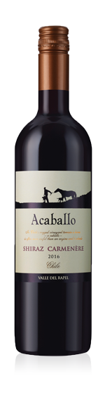 vin Acaballo Shiraz Carmenère 2016 Shiraz
