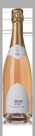 vin Abbesse De Loire Crémant Rose Nv (2015) Cabernet Franc