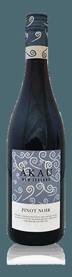 Akau Pinot Noir 2016 Pinot Noir 100% Pinot Noir Hawke's bay