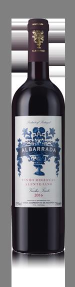 vin Albarrada Red Alentejo Vr 2016 Castelão