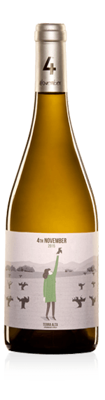 Altavins 4 de Noviembre Blanc 2016 Garnacha Blanca
