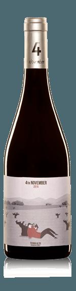 vin Altavins 4 de Noviembre Garnacha Tinto 2017 Garnacha